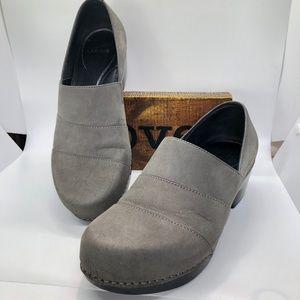 DANSKO Suede Leather Slip On Clog Shoes -40